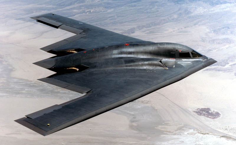 stealth bomber b 2 spirit mid flight 10 Things You Didnt Know About the Stealth Bomber