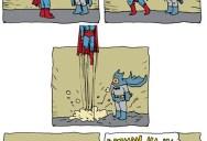 Batman and Superman [Comic Strip]