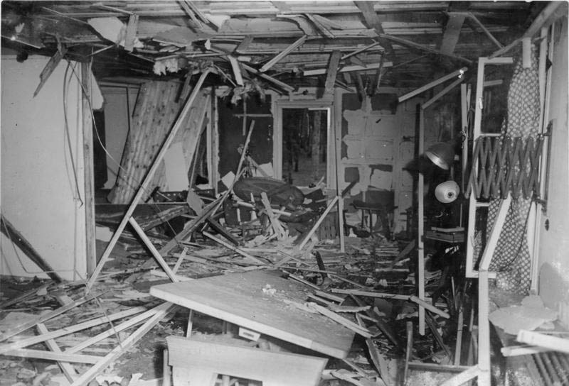 wolfs lair plot to kill assassinate hitler This Day In History   July 20th