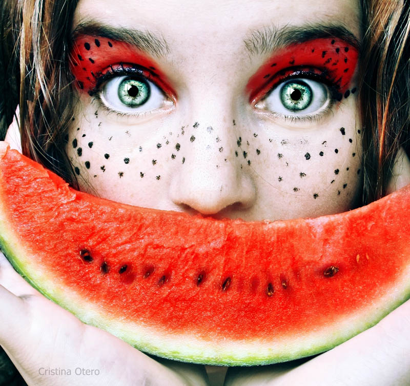 you are what you eat girl eating watermelon Picture of the Day: You Are What You Eat