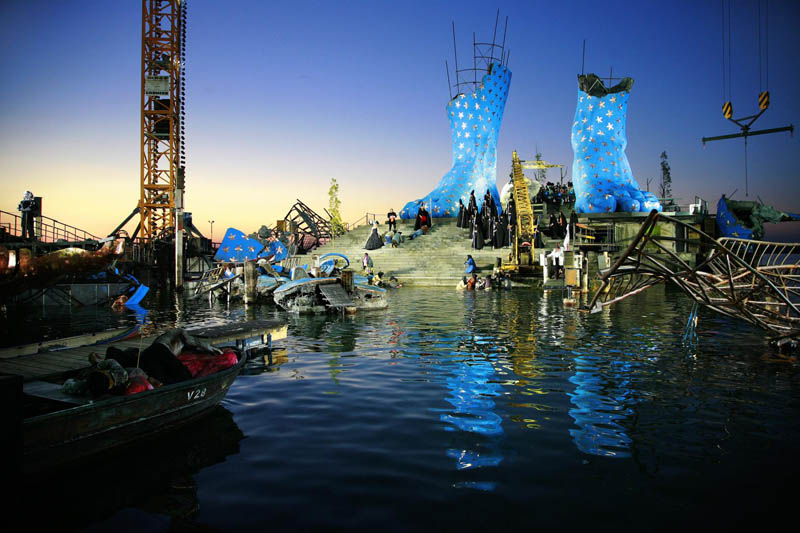 aida lake stage bregenz austria The Opera on the Lake Stages of Bregenz