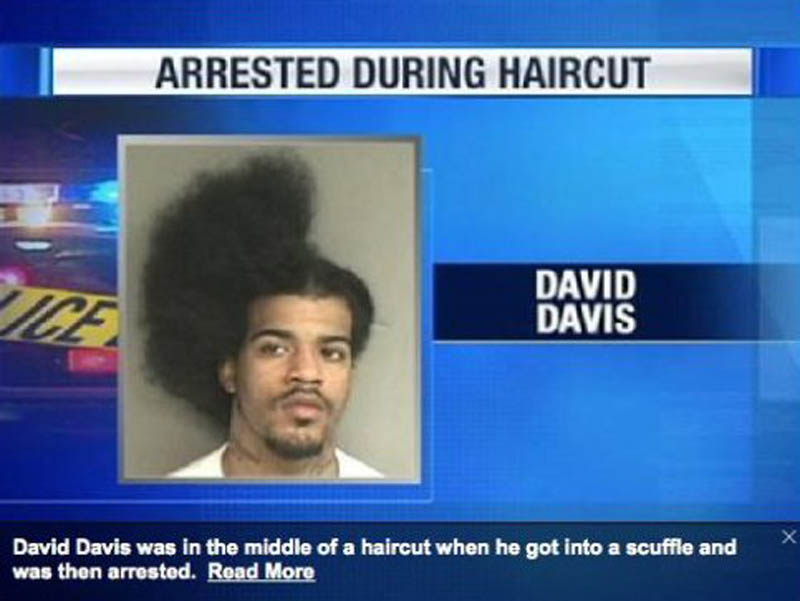 arrested during haircut The Friday Shirk Report   Volume 122