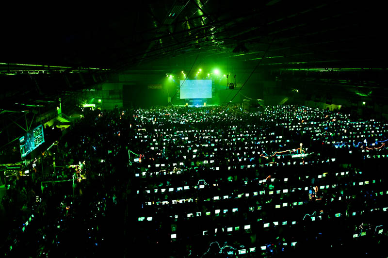 biggest lan party ever The Top 50 Pictures of the Day for 2011