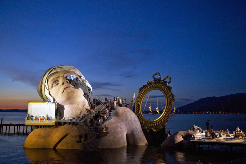 bregenz festival andre chenier stage 2011 The Opera on the Lake Stages of Bregenz