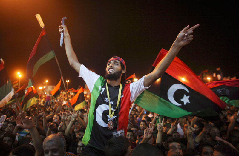 celebrating in benghazi libya 2 Picture of the Day: The End is Nigh