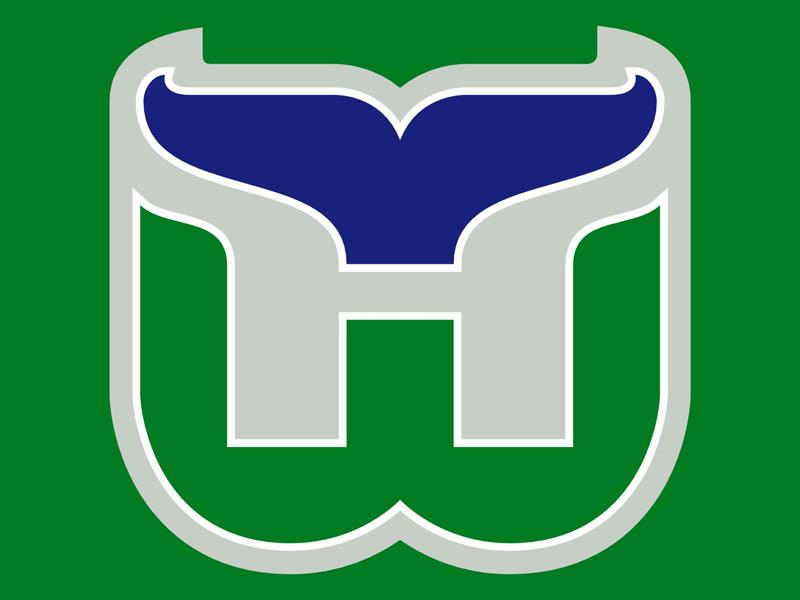 hartford whalers logo large 20 Clever Logos with Hidden Symbolism