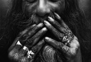 Gripping Black and White Portraits of the Homeless by Lee Jeffries