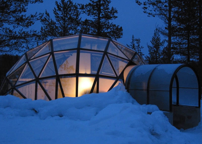 hotel kakslauttanen igloo village finland 3 Picture of the Day: The Igloo Village Resort in Finland