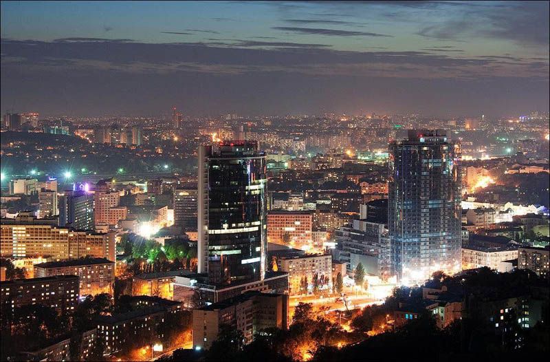kiev at night aerial This Day In History   August 24th