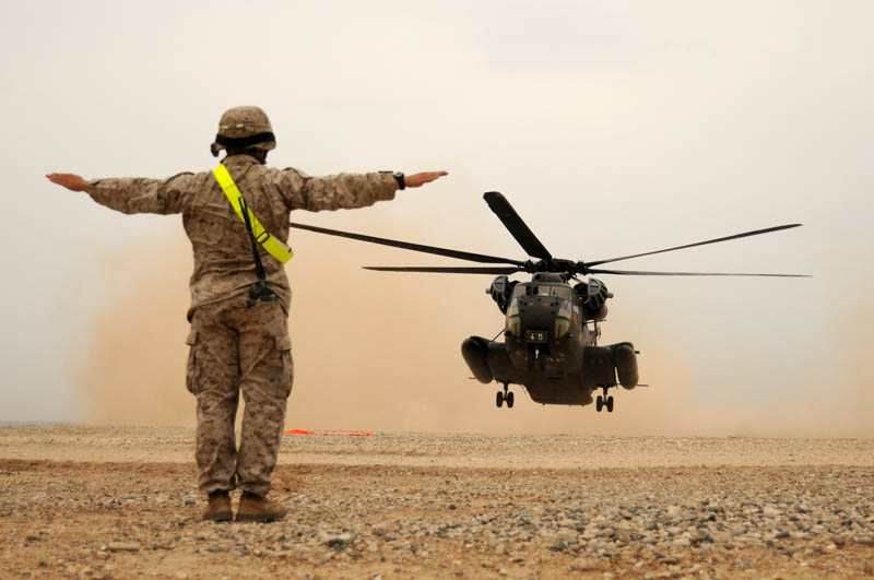 landing safety office telling helicopter to hover Picture of the Day: Simon Says