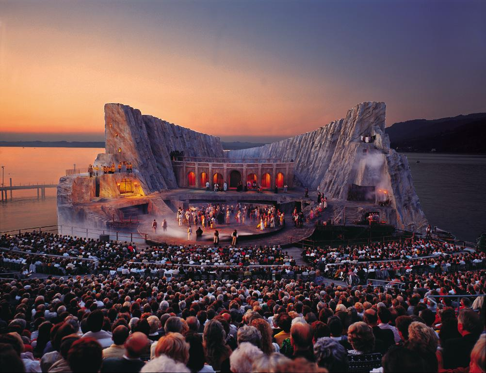 opera on the lake bregenz carmen 1991 1992 The Opera on the Lake Stages of Bregenz
