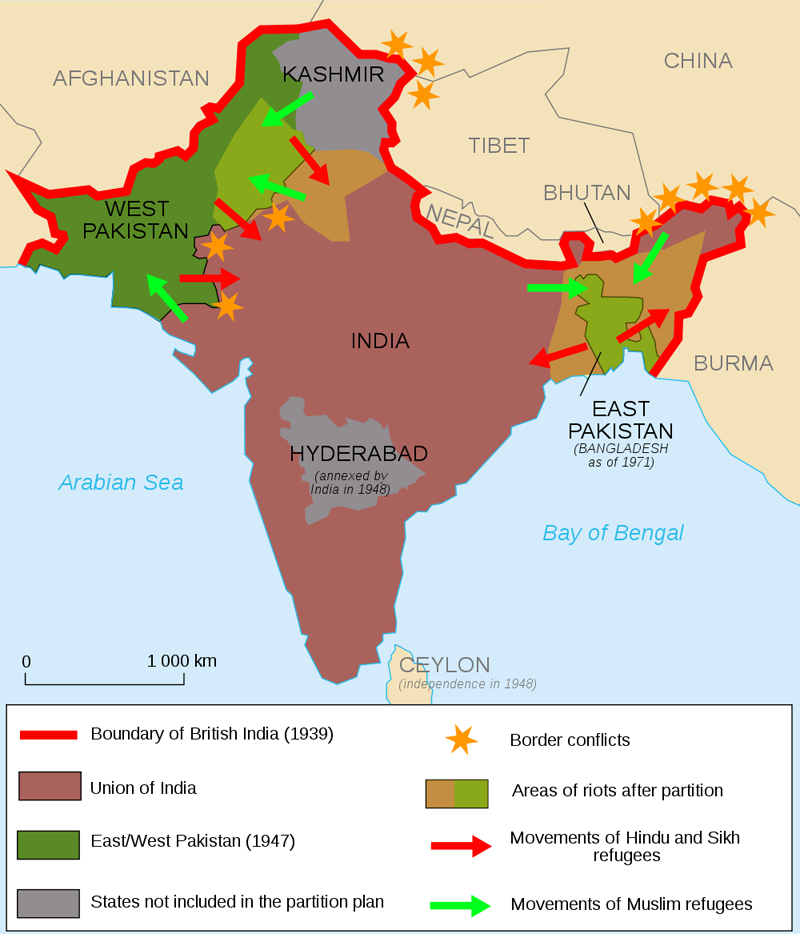 partition of india This Day In History   August 17th