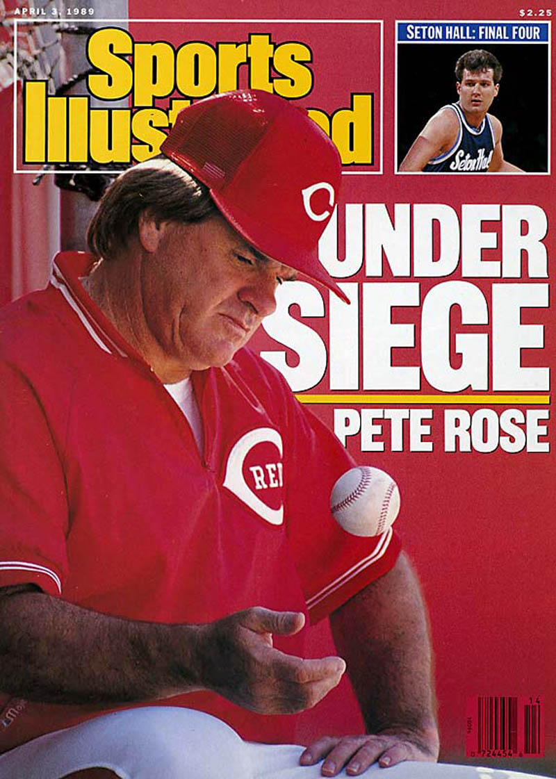 pete rose sports illustrated cover This Day In History   August 24th