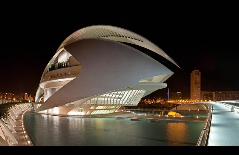 queen sofia palace of the arts in valencia spain Picture of the Day: Queen Sofia Palace of the Arts in Valencia
