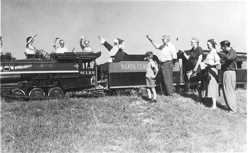 santa claus land freedom train This Day In History   August 3rd