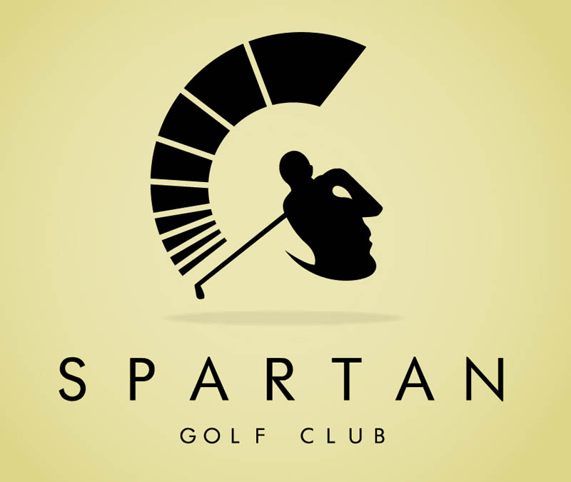spartan golf logo large1 15 Clever LEGO Ads that Demonstrate the Power of Imagination