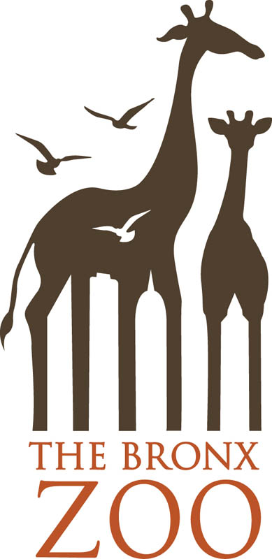 the bronx zoo logo large 20 Clever Logos with Hidden Symbolism