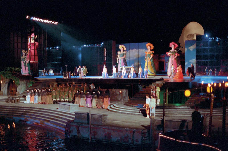 the tales of hoffmann outdoor lake stage bregenz festival The Opera on the Lake Stages of Bregenz