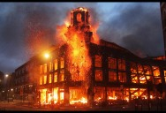 Picture of the Day: London Burning