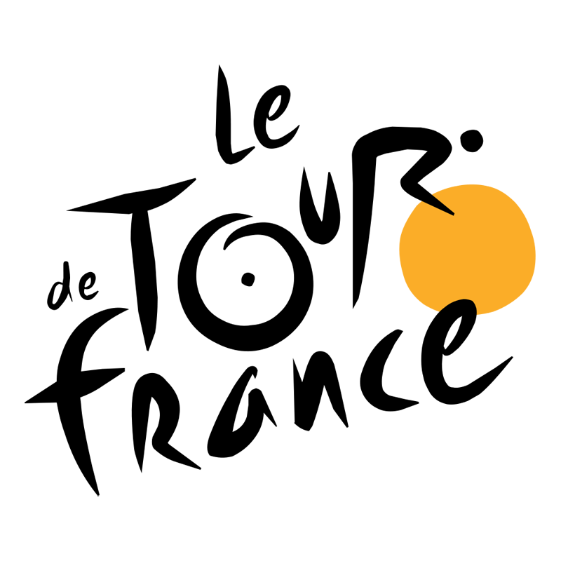 tour de france logo large 20 Clever Logos with Hidden Symbolism