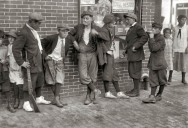 Picture of the Day: Vintage Street Gang from 1916