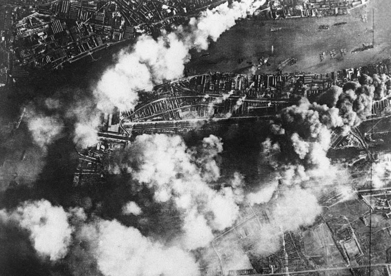 aerial bombing of britain wwii This Day In History   September 7th
