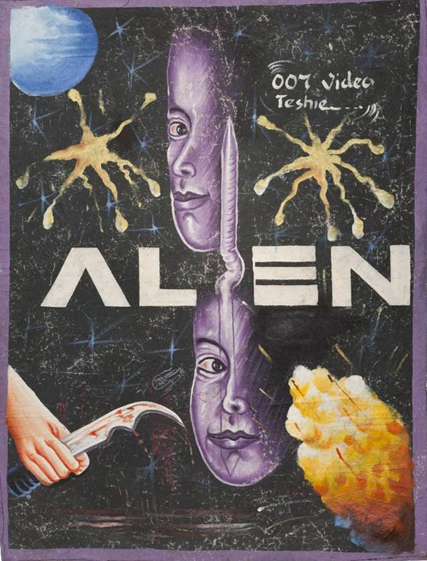 alien Bootleg Movie Posters from Ghana