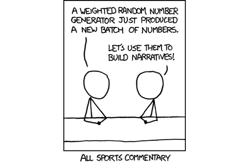 all sports commentary comic xkcd All Sports Commentary [Comic Strip]