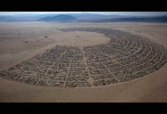 Picture of the Day: Burning Man Festival From Above