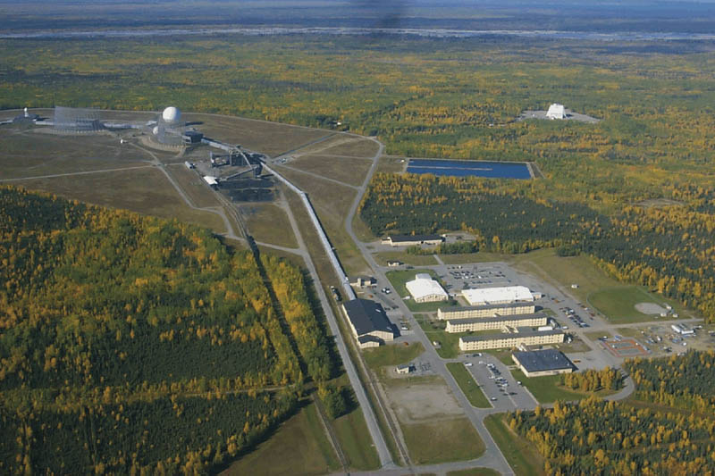 clear air force station alaska 16 U.S. Air Force Bases and Naval Stations From Above