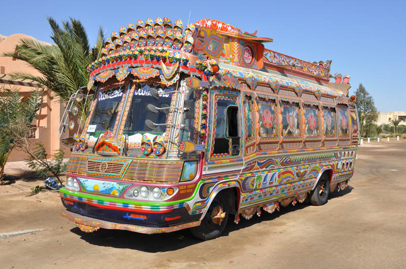 decorative pakistan truck art 7 Decorative Truck Art from Pakistan