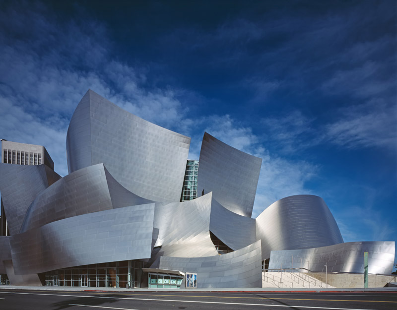 frank gehry walt disney concert hall los angeles philharmonic Picture of the Day: Frank Gehry's Walt Disney Concert Hall