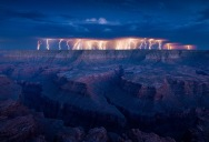 Picture of the Day: Unbelievable Lightning Show at the Grand Canyon
