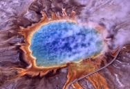 Picture of the Day: Grand Prismatic Spring, Yellowstone National Park