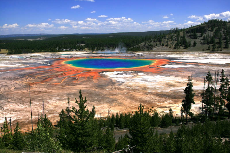 grand prismatic spring yellowstone national park Picture of the Day: Grand Prismatic Spring, Yellowstone National Park