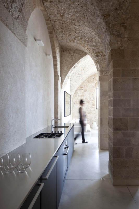 jaffa apartment stone restoration pitsou kedem architect 1 Beautiful Stone Home Restoration in Israel