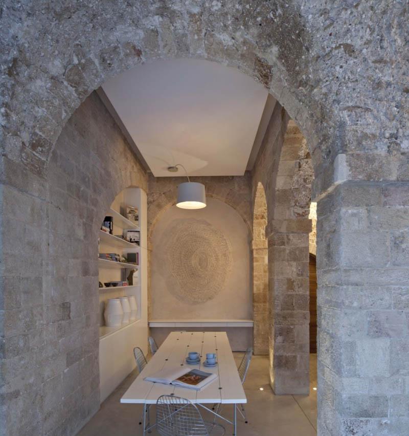 jaffa apartment stone restoration pitsou kedem architect 10 Beautiful Stone Home Restoration in Israel