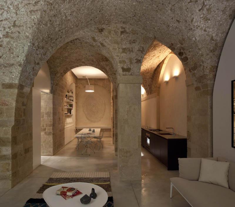 jaffa apartment stone restoration pitsou kedem architect 11 Beautiful Stone Home Restoration in Israel