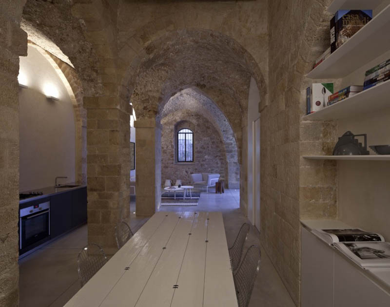 jaffa apartment stone restoration pitsou kedem architect 13 Beautiful Stone Home Restoration in Israel