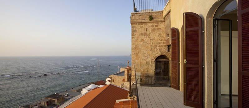 jaffa apartment stone restoration pitsou kedem architect 16 Beautiful Stone Home Restoration in Israel