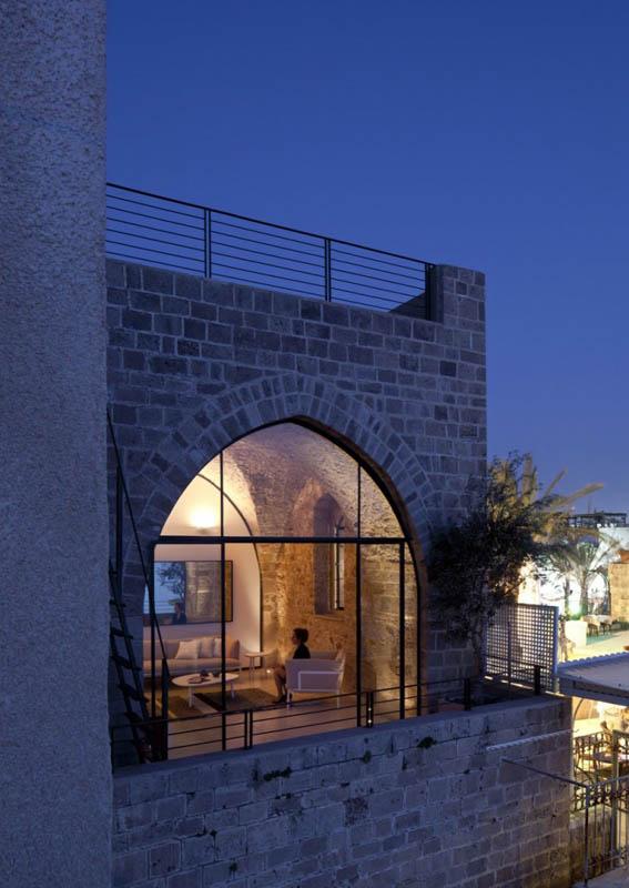 jaffa apartment stone restoration pitsou kedem architect 18 Beautiful Stone Home Restoration in Israel