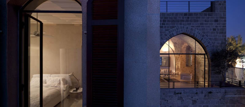jaffa apartment stone restoration pitsou kedem architect 19 Beautiful Stone Home Restoration in Israel