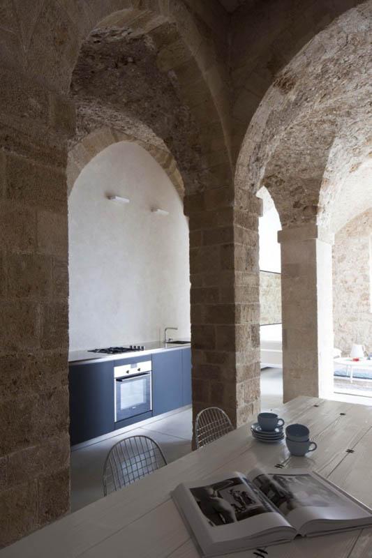 jaffa apartment stone restoration pitsou kedem architect 2 Beautiful Stone Home Restoration in Israel