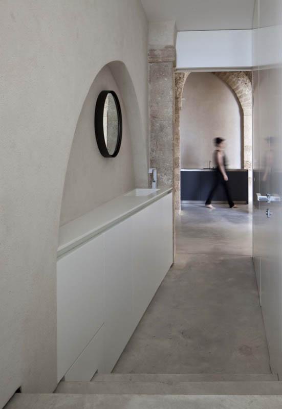 jaffa apartment stone restoration pitsou kedem architect 4 Beautiful Stone Home Restoration in Israel