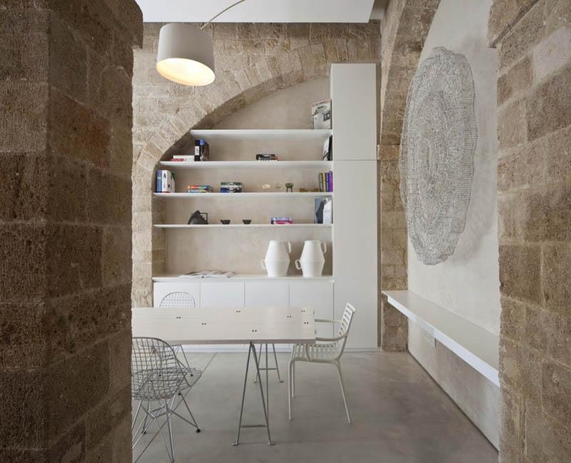 jaffa apartment stone restoration pitsou kedem architect 7 Beautiful Stone Home Restoration in Israel