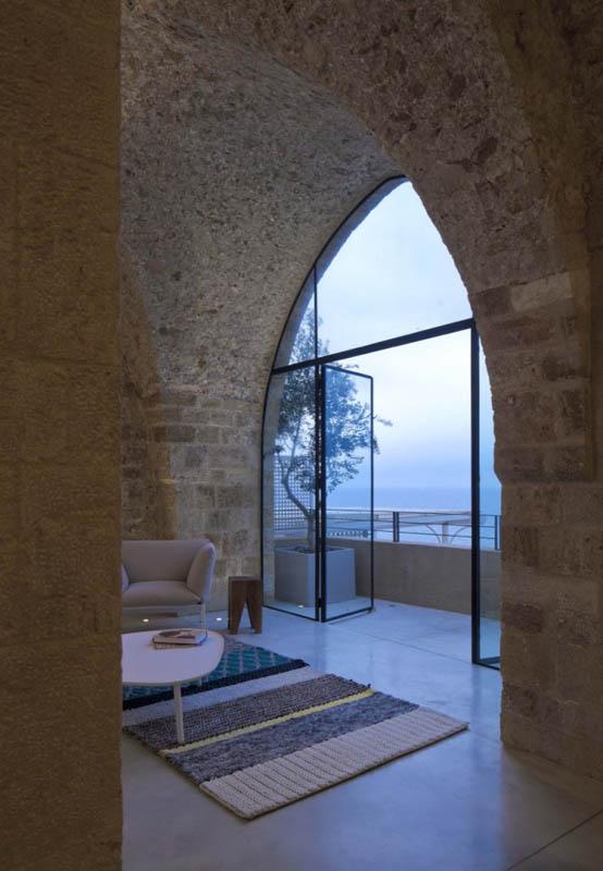 jaffa apartment stone restoration pitsou kedem architect 8 Beautiful Stone Home Restoration in Israel