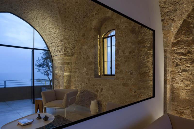 jaffa apartment stone restoration pitsou kedem architect 9 Beautiful Stone Home Restoration in Israel