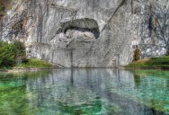 Picture of the Day: The Lion Monument of Lucerne, Switzerland
