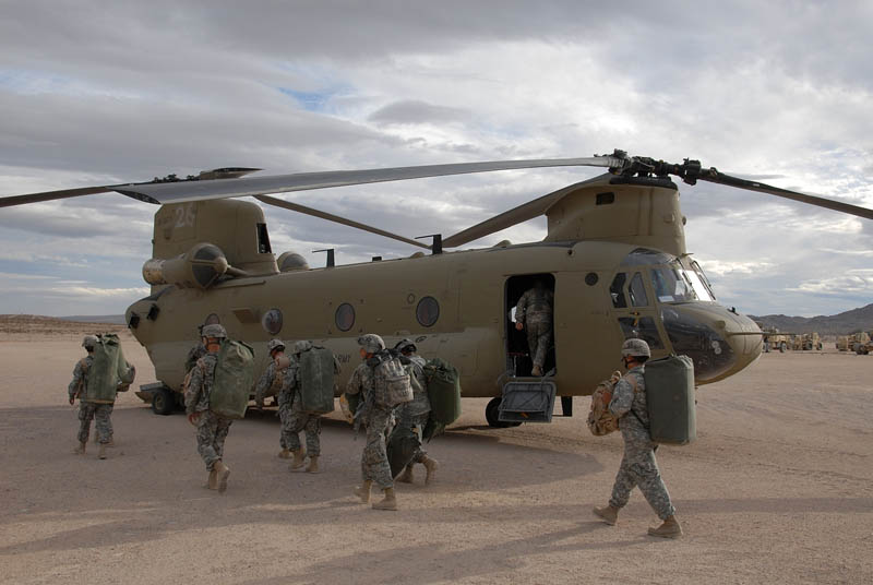 loading onto chinook helicopter This Day In History   September 21st
