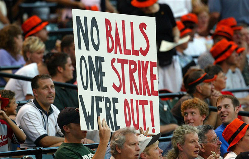 major league baseball strike sign 1994 1995 This Day In History   September 14th